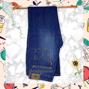 LEVI'S 518 Boot Cut Blue Jeans
